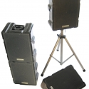 New bass ports in the Noho loudspeaker at InfoComm increase bass response for end users