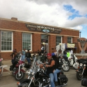 The Sturgis Motorcycle Hall of Fame is one of the oldest buildings in downtown Sturgis, home to one of the world\'s largest annual motorcycle rallies. Technomad loudspeakers are positioned on rooftops around the downtown to deliver high-quality voice and audio. Photo credit to Nicholas Ng.