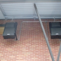 Berlin 9040 narrow dispersion loudspeakers power three outdoor zones for campus-wide emergency notification
