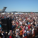 The Crowd at Westover AFB