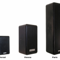 The Vernal and Paris are part of the company\'s MP Series of weatherproof loudspeakers.