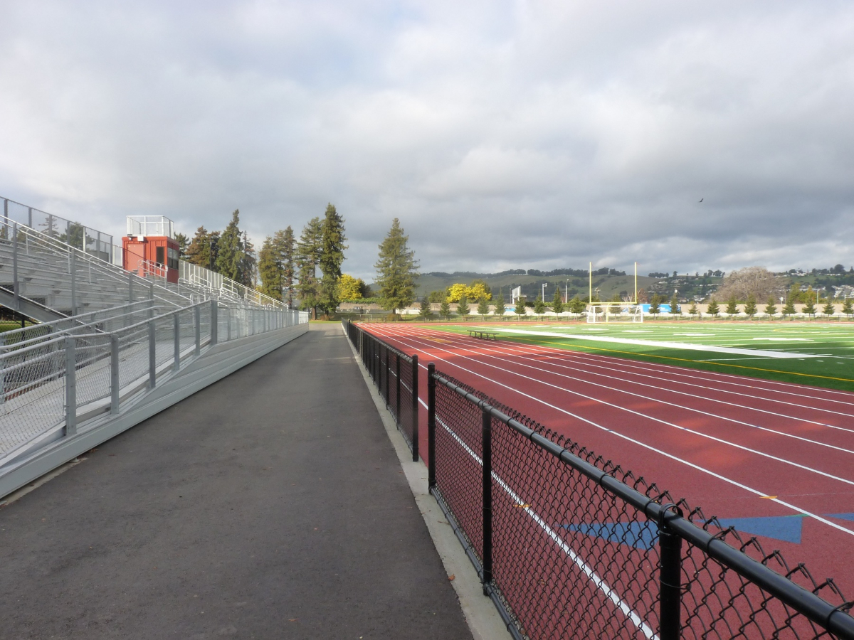 San Lorenzo High School\'s stadium lacked a proper PA system for sports and other events, such as graduations