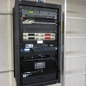 The Technomad Turnkey PA System includes a pre-wired rack with an amplifier, six-channel mixer and more to provide a full audio headend