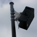 Four Noho loudspeakers were installed to cover the stadium with full-range audio, using Technomad\'s new stainless steel mount
