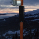 Swedish integrator Watt & Volt chose Technomad loudspeakers for their rugged durability and weatherproof design, making them able to withstand the harsh temperatures and heavy snow of northern Sweden